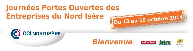 Journées Portes Ouvertes des entreprises du Nord Isère