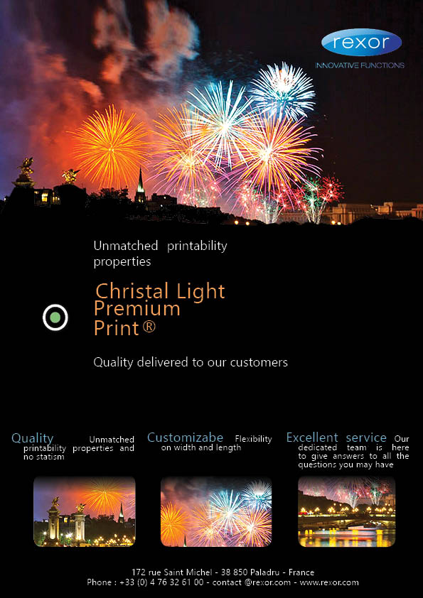 "Let use introduice you to ""Christal Light Premium Print"""