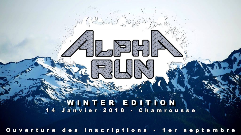 Alpha Run Winter Edition à Chamrousse