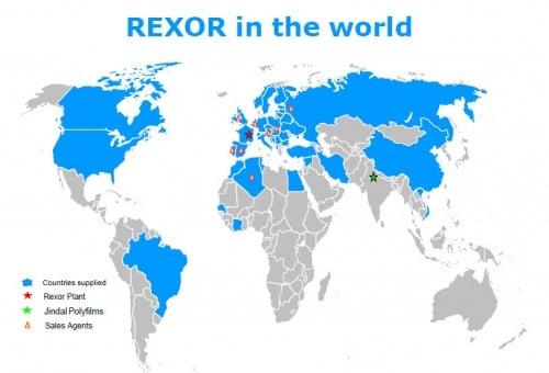 Agents Rexor dans le monde