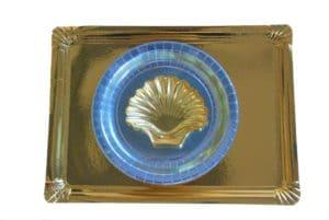 Film doré et argenté pour contrecollage carton ou thermormage APET