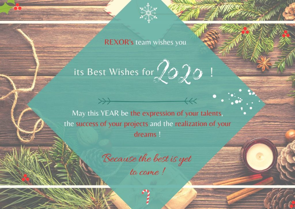 REXOR's team wishes you its Best Wishes for 2020
