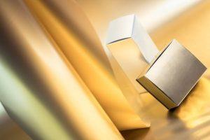 Luxe film de pelliculage Christal-Light Classique films plastiques dorés argentés brillants mats REXOR