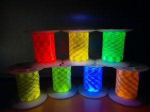Nouvelles couleurs fluorescentes sous UV pour applications de sécurité